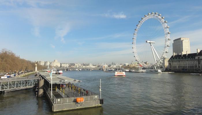 London er alltid bra.