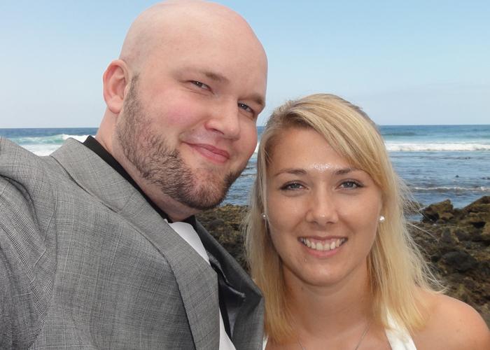 2010: Giftet oss har vi gjort også. Også det på en varm dag.