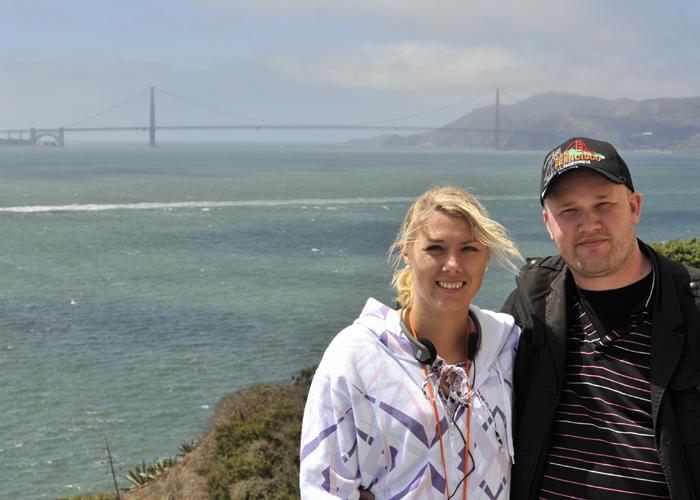 2009: Vi har reist og opplevd mye sammen. Her er vi i San Francisco.