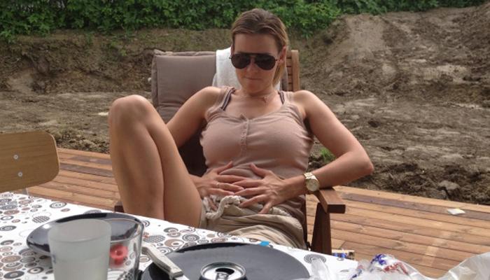 ANETTE MARIE: Den perfekte grillgjest.