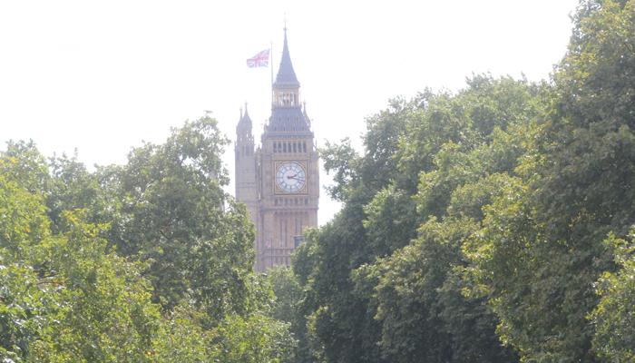 BIG BEN: Man må liksom bare ta bildet av det berømte klokketårnet. Hver eneste gang.
