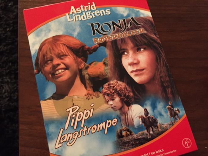 FAVORITT: Pippi Langstrømpe er en fascinerende jente. Det synes i alle fall jentungen.
