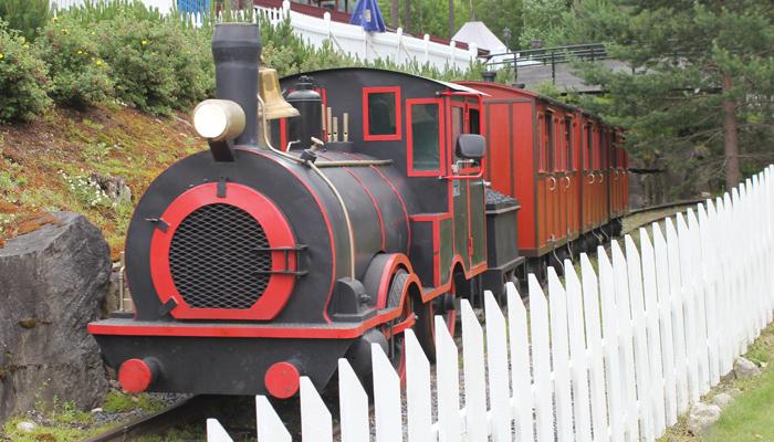 GODTERI: Toget i Lilleputthammer er et must.