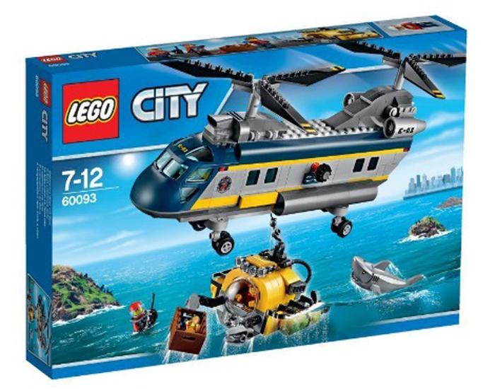 PREMIE: LEGO City Transporthelikopter til 549 kroner.
