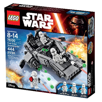 PREMIE 2: LEGO Star Wars First Order Snowspeeder til 549 kroner.